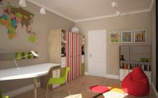 Детская комната (квартира Д)