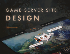 Yumil - Game server site design En Ihnatiuk • Реда