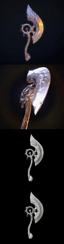 Orc's axe