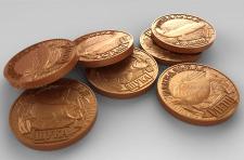 Изготовление stl моделей медалей для станков с ЧПУ