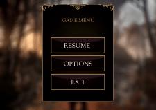 UI дизайн ігрового меню