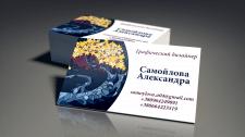 Дизайн собственной визитки со своей иллюстрацией