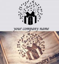лого для компании занимающейся подарками из дерева