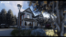Modern american house