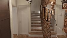 Дизайн прихожей (лестница)
