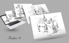 Ілюстрації-начерки