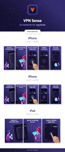 Дизайн скриншотов для App Store