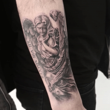 Тату ангел tattoo angel