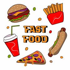 Food иллюстраця
