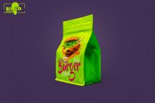 Дизайн упаковки для бургерной компании
