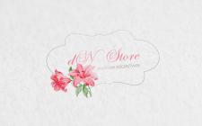 Логотип для DnStore - магазина косметики