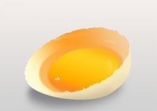 """Рисунок в фотошоп """"Яйцо в скорлупе"""""""