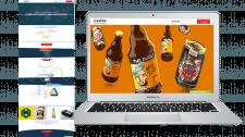 Landing Page для агенства бердинга и упаковки