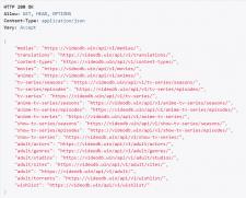 Парсинг данных с API