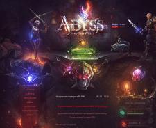 Игровой сайт Abyss
