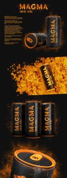 Magma energy drink