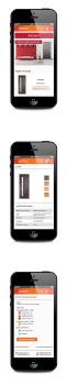 Сайт по продаже дверей. мобильная версия