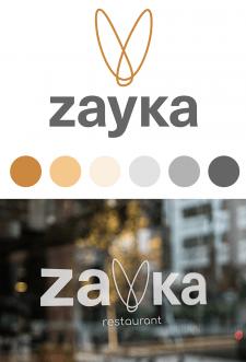 Логотип для ресторана Zayka