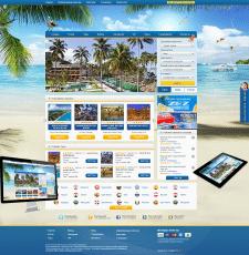 Дизайна сайта для турагентства
