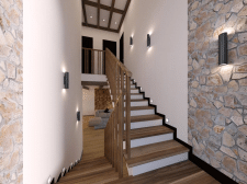 лестничный холл в частном доме