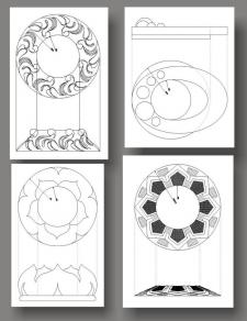 Дизайн точечных светильников