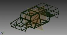 Пространственная рама для автомобиля, багги, мото