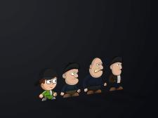 Персонажи для 2D игры (Вариант 2 (Мультяшный))