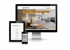 Landing Page по ремонту квартир в г. Киев