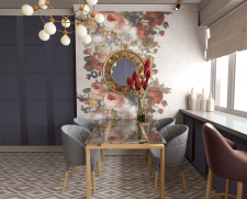 Дизайн кухни в 3к квартире