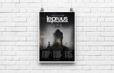 афиша турне норвежской рок группы Leprous