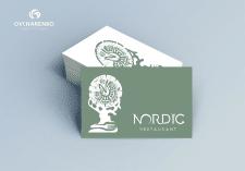Логотип ЭКО ресторана северной кухни