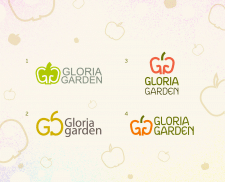 "Логотип ""Gloria garden"""