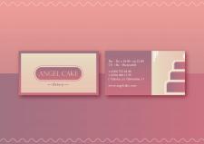 Дизайн визитки для пекарни