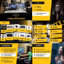 Презентация для студии звукозаписи
