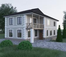 Візуалізація будинку