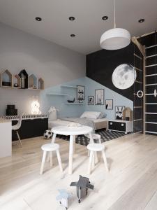 """Дизайн проект квартиры ЖК """"Almond apartments"""""""