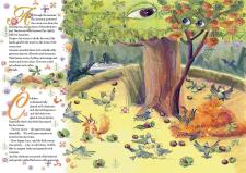 "Детская книга ""Сказка о каштане и рябине"""