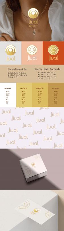 Создание логотипа для ювелирной компания Jival