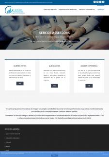 Создание сайта Консалтинговой компании в Испании