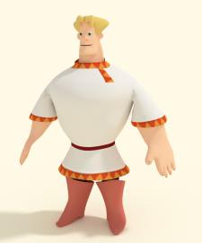 Моделирование персонажа