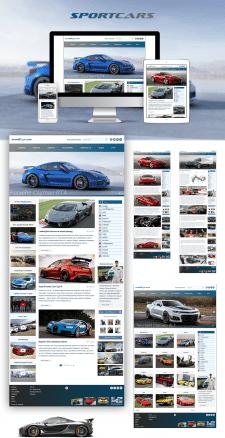 Информационный сайт Sportcar