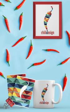 Дизайн лого для креативного агенства