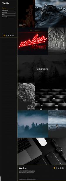 Wadde Premium Portfolio Theme