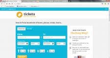 Сайт по поиску и бронированию билетов