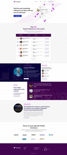 Адаптивная верстка сайта по шаблону Figma