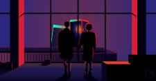 Fight club final scene