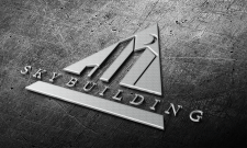 Логотип фирмы по стройке небоскрёбов