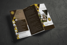 Дизайн буклета для академии культуры и искусств