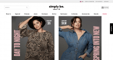 "Online store ""Simply be"""