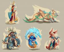 Набор персонажей (фракция 1)